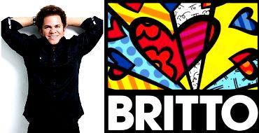 Romero Britto Pop Artist