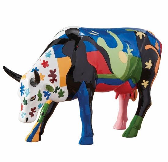 Cowparade Shanghai Cow