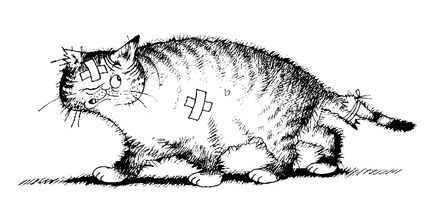 Albert Dubout Cats - Third Eye