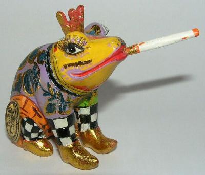 Toms Drag Art - Frog Prince