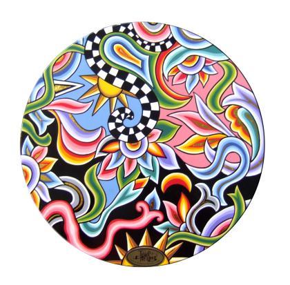 Toms Drag Art - Side Table Sun