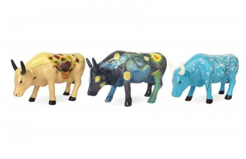 Artpack Van Gogh - Set of 3 - Cowparade