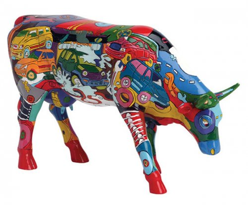 Brenner Mooters (L) - Cowparade