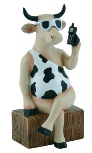 Call Me Now (M) - Cowparade