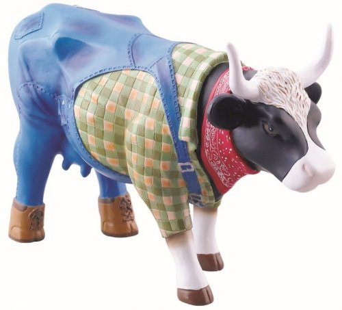Cowparade - Farmer Cow (M)