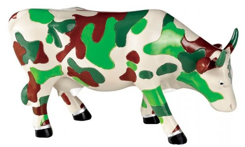 Fatigues Cow (M) - Cowparade