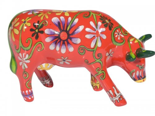Flower Lover Cow (M) - Cowparade