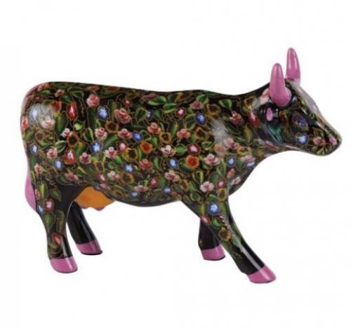 Flower Power Cow (M) - Cowparade