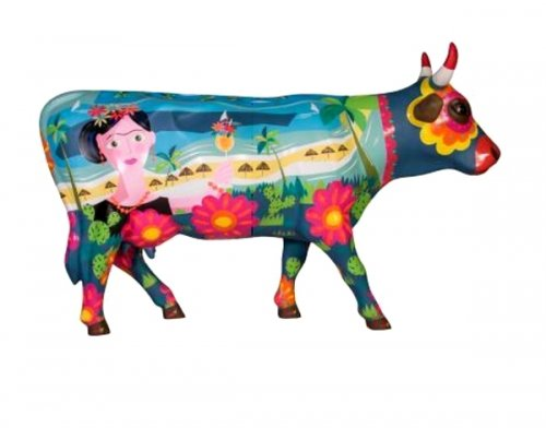 Cowparade - Frida vai a Cancun Cow (L)