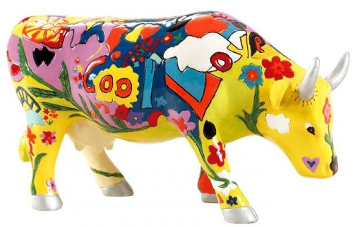 Groovy Moo (M) - Cowparade