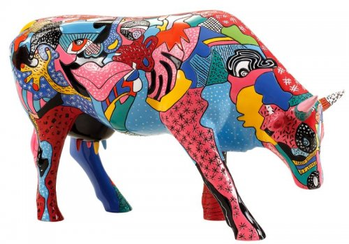 Cowparade - Partying with PI-COW-SSO (L)