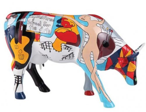 Picowsos School for the Arts (L) - Cowparade