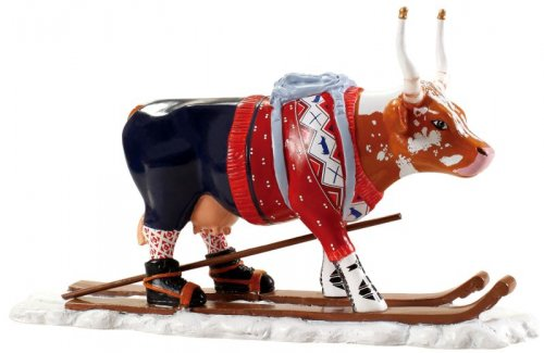 Ski Cow (M) - Cowparade