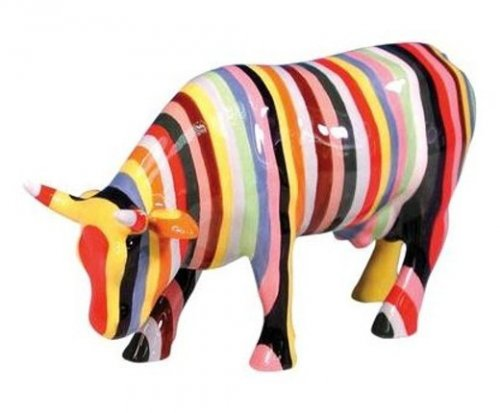 Striped Cow (M) - Cowparade