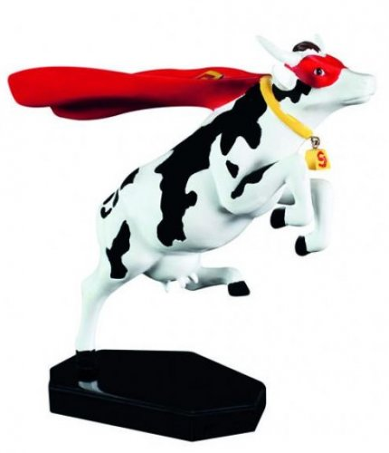 Cowparade - Super Cow (M)