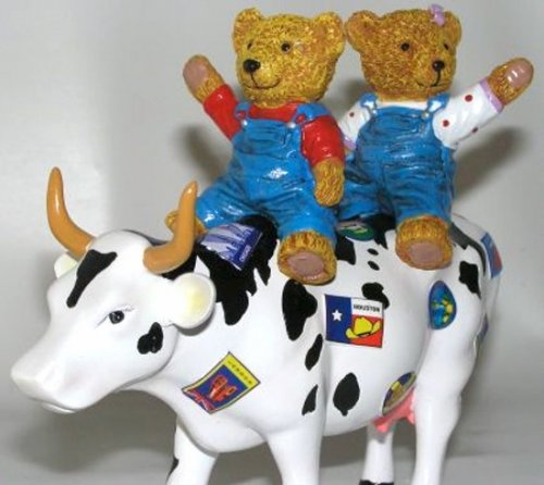 Teddy Bears on the Move (M) - Cowparade