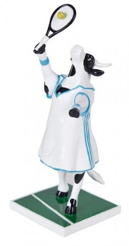 Cowparade - Tennis Cow (M)