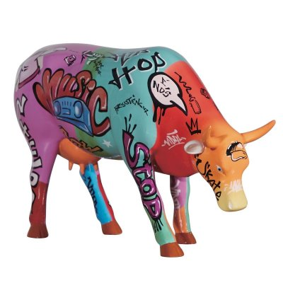 Vaquinha do Hip Hop Cow (L) - Cowparade Kuh