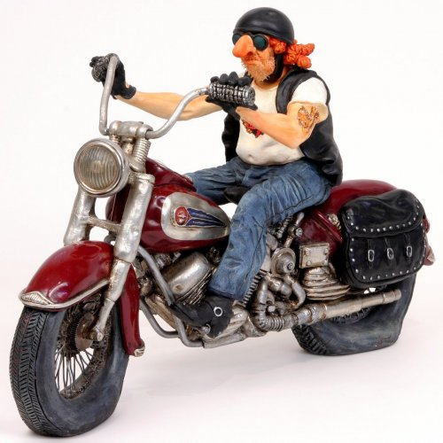 Forchino Comic Art - Der Biker #va