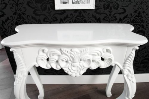 Konsole Table - Venice white (S)