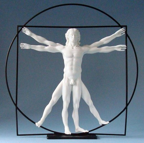 The Vitruvian Man - Da Vinci