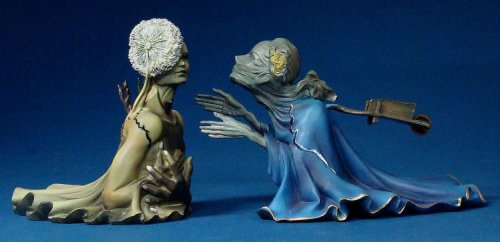 Tristan and Isolde - Sculpture based on Dali