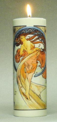 Teelichthalter Mucha - The Arts