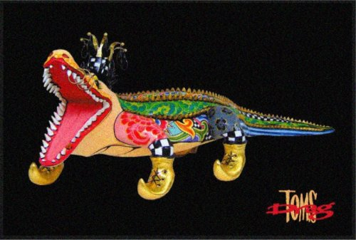 Fussmatte Alligator - Toms Drag Art