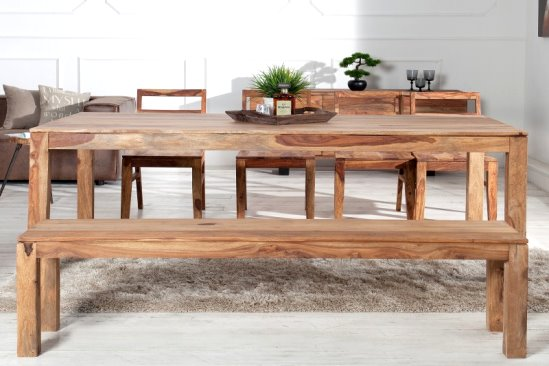 Holz Sitz Bank Pure