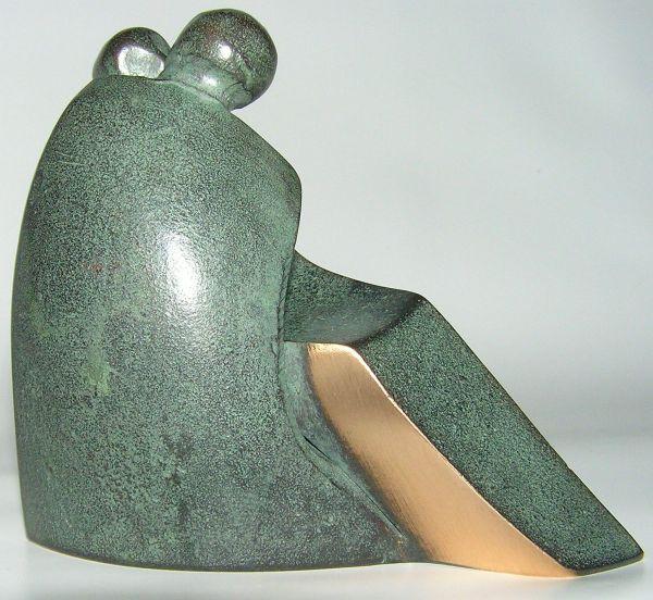 Luise Kött-Gärtner - Bronzefigur Liebe