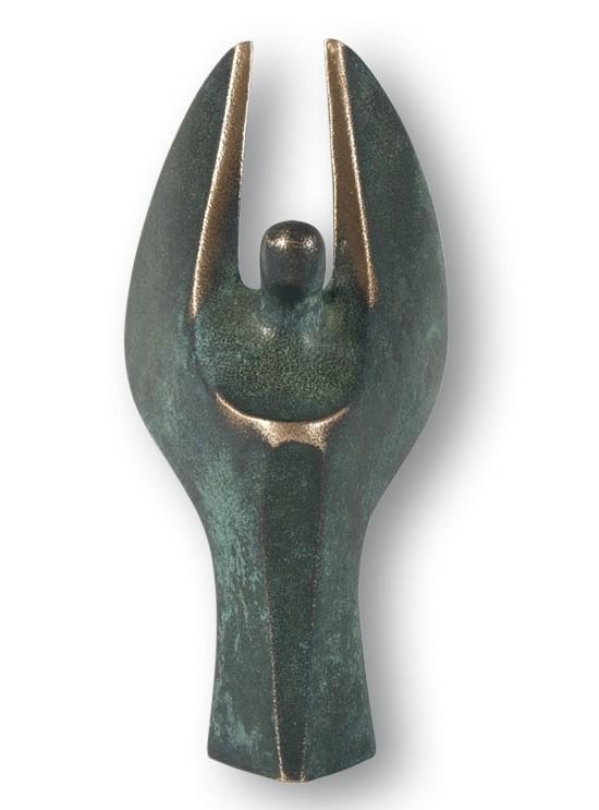 Luise Kött-Gärtner - Bronzefigur Mini Engel