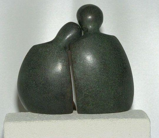 Luise Kött-Gärtner - Bronzefigur Einheit
