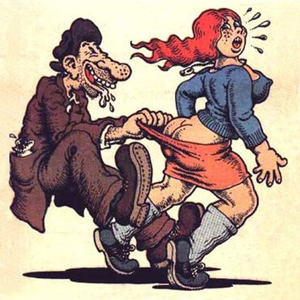 Robert Crumb - Aw, Come on!
