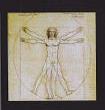 Leonardo da Vinci - Vitruvianischer Mensch
