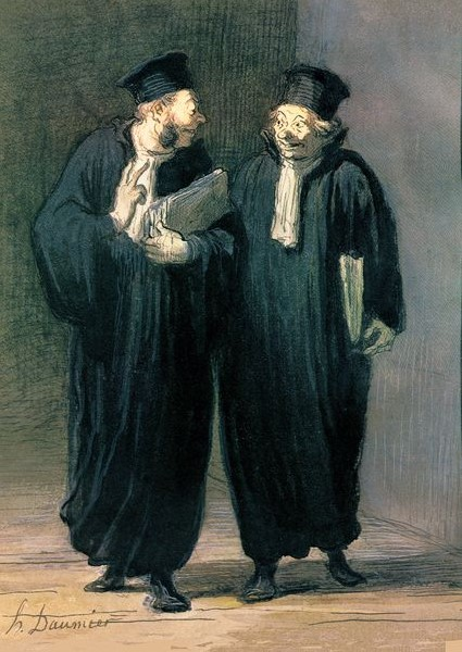 Honore Daumier - Anwälte