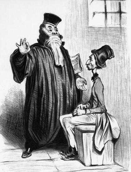 Honore Daumier - Anwalt