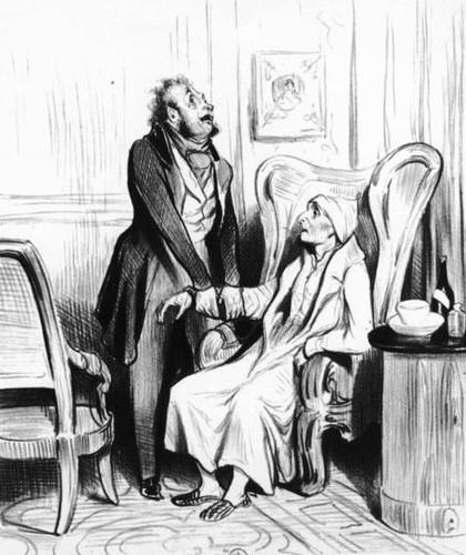 Honore Daumier - Doktor