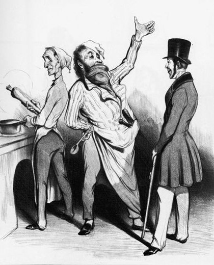Honore Daumier - Gastwirt