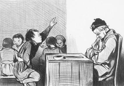 Honore Daumier - Professor