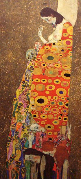 Gustav Klimt - Hoffnung II