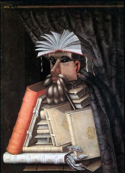 Arcimboldo Der Bibliohekar