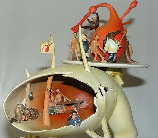 Hieronymus Bosch - Baummensch