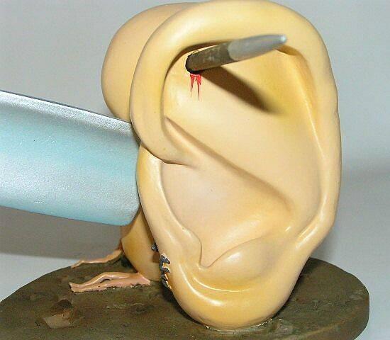 Hieronymus Bosch - Ohren mt Messer
