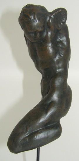 Parastone Sculpture Sinner on the cross Michelangelo