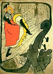 Toulouse Lautrec - Jane Avril