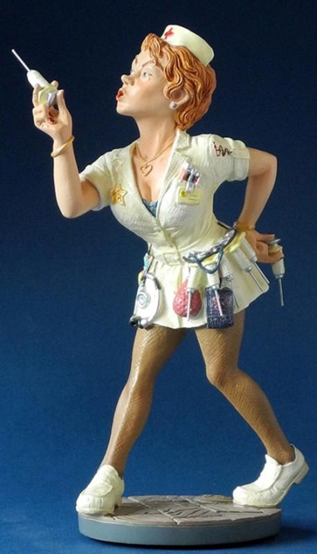 Profisti Sculpture Krankenschwester