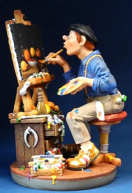 Profisti Skulptur Kunstmaler