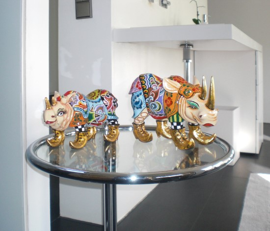 Toms Drag Art - Rhinos
