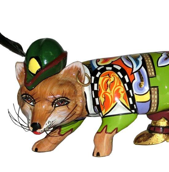 Toms Drag Art - Fox Robin