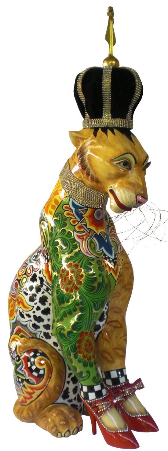 Toms Drag Art - Leopard Roy
